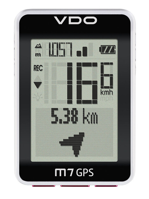 VDO M7 GPS Fahrradcomputer